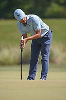 Abraham Ancer (MEX) watches his putt on 2 during round 3 of the Houston Open, Golf Club of Houston, Houston, Texas. 3/31/2018.<br /> Picture: Golffile | Ken Murray<br /> <br /> <br /> All photo usage must carry mandatory copyright credit (&copy; Golffile | Ken Murray)
