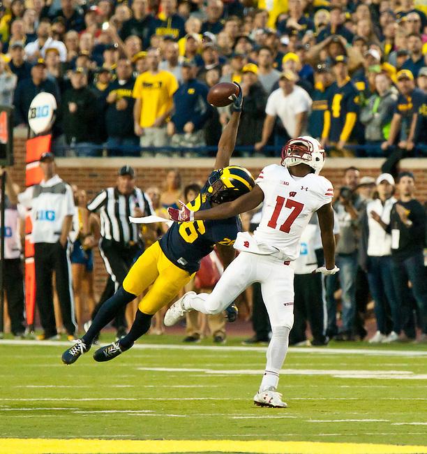 Wisconsin at Michigan Football