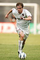 The MetroStars' Eddie Gaven. D.C. United defeated the NY/NJ MetroStars 6 to 2 at RFK Stadium, Washington, D.C., on July 3, 2004.