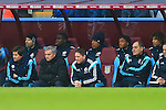 Juan Cuadrado of Chelsea watches on from the bench - Aston Villa vs. Chelsea - Barclay's Premier League - Villa Park - Birmingham - 07/02/2015 Pic Philip Oldham/Sportimage