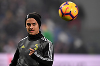 Paulo Dybala of Juventus during the warm up <br /> Reggio Emilia 10-2-2019 Stadio Mapei, Football Serie A 2018/2019 Sassuolo - Juventus<br /> Foto Andrea Staccioli / Insidefoto
