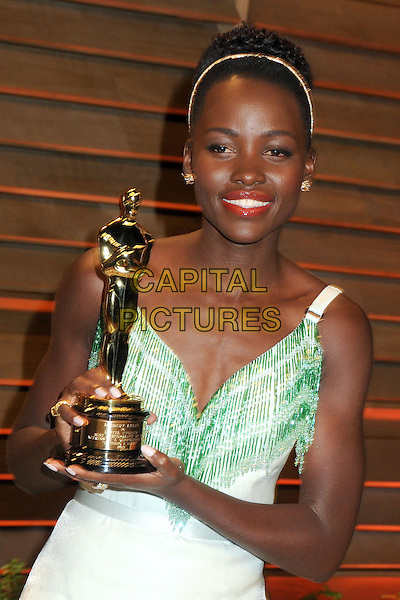 02 March 2014 - West Hollywood, California - Lupita Nyong'o. 2014 Vanity Fair Oscar Party following the 86th Academy Awards held at Sunset Plaza.<br /> CAP/ADM/BP<br /> &copy;Byron Purvis/AdMedia/Capital Pictures