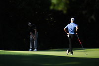 Webb Simpson (USA) watches his putt on 11 during round 2 of the Fort Worth Invitational, The Colonial, at Fort Worth, Texas, USA. 5/25/2018.<br /> Picture: Golffile | Ken Murray<br /> <br /> All photo usage must carry mandatory copyright credit (&copy; Golffile | Ken Murray)