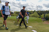 Henrik Stenson (SWE) and Jason Day (AUS) make their way down 3 during day 2 of the WGC Dell Match Play, at the Austin Country Club, Austin, Texas, USA. 3/28/2019.<br /> Picture: Golffile | Ken Murray<br /> <br /> <br /> All photo usage must carry mandatory copyright credit (© Golffile | Ken Murray)
