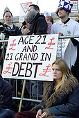 National Union of Students demonstration against tuition fees; London, 26/10/2003.