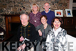 Caroline Foundation Fundraiser: Attending the Caroline Foundation fundraiser in aid of cancer research at Kilcooley's Country House, Ballybunion on Saturday night last were in front Sean Curtin, Anne Cummin & Mary Curtin. Back : Joan Kennelly & Donie Culhane.