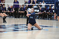 NWA Democrat-Gazette/J.T. WAMPLER Springdale Har-Ber beat Fayetteville in 5 sets (22-25, 25-19, 25-21, 23-25, 20-18) Tuesday Oct. 10, 2017 at Wildcat Arena in Springdale.