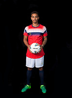 Paris Cowan-Hall during the PEAK Elite Sportswear Photoshoot at Wycombe Training Ground, High Wycombe, England on 1 August 2017. Photo by PRiME Media Images.