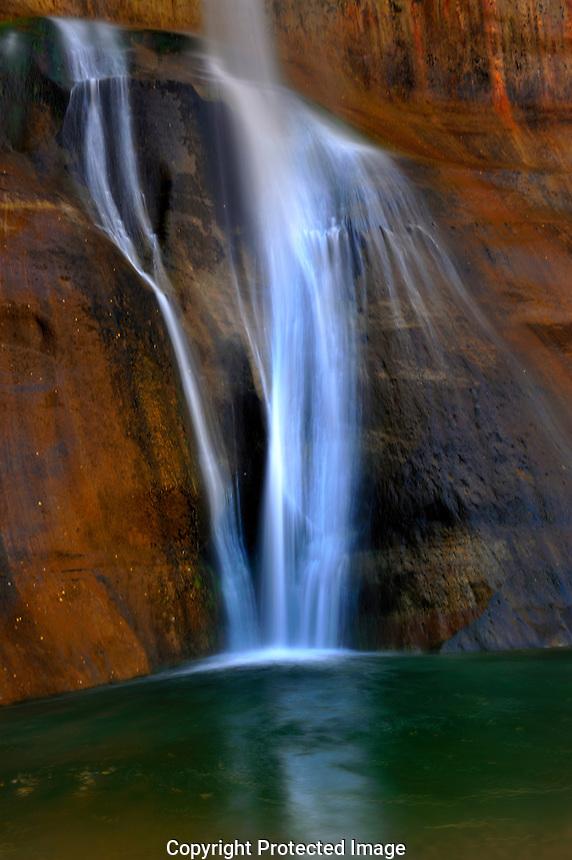 Lower Calf Creek Falls - Grand Staircase Of The Escalante, Utah