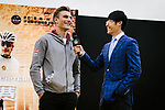 Marcel Kittel (GER) Team Katusha Alpecin interviewed at the media day before the 2018 Shanghai Criterium, Shanghai, China. 16th November 2018.<br /> Picture: ASO/Pauline Ballet | Cyclefile<br /> <br /> <br /> All photos usage must carry mandatory copyright credit (© Cyclefile | ASO/Pauline Ballet)