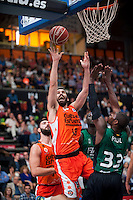 VALENCIA, SPAIN - OCTOBER 18: San Emeterio, Paul during ENDESA LEAGUE match between Valencia Basket Club and FIATC Joventut at Fonteta Stadium on October 18, 2015 in Valencia, Spain