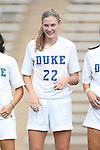 01 September 2013: Duke's Malinda Allen. The Duke University Blue Devils played the University of New Mexico Lobos at Fetzer Field in Chapel Hill, NC in a 2013 NCAA Division I Women's Soccer match. Duke won the game 1-0.