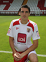 Peter Vincenti of Stevenage at the Stevenage FC team photo shoot at The Lamex Stadium, Broadhall Way, Stevenage on Saturday, 24th July, 2010.© Kevin Coleman 2010