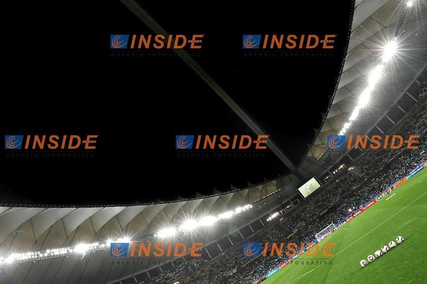 Moses Mabhida Stadium di Durban<br /> Germania Spagna 0-1 - Germany vs Spain 0-1<br /> Semifinale - Semifinal<br /> Campionati del Mondo di Calcio Sudafrica 2010 - World Cup South Africa 2010<br /> Moses Mabhida Stadium, Durban 07/07/2010<br /> &copy; Giorgio Perottino / Insidefoto