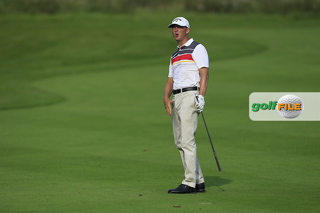 Niclas Fasth (SWE) on the 6th fairway during Round 1 of the Made in Denmark 2016 at the Himmerland Golf Resort, Farso, Denmark on Thursday 25th August 2016.<br /> Picture:  Thos Caffrey / www.golffile.ie<br /> <br /> All photos usage must carry mandatory copyright credit   (&copy; Golffile | Thos Caffrey)