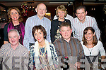 CHRISTMAS FUN: Friends enjoying the Festive Season at the Station House restaurant and bar on Saturday seated l-r: Joe Rogers, Antoinette Sayers, Declan Crowley and Catherine McCarthy. Back l-r: Breda Rogers, Padraig Sayers, Vera Crowley and Kevin McCarthy.