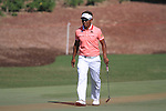 Thongchai Jaidee walks onto the 8th green during Day 1 of the Dubai World Championship, Earth Course, Jumeirah Golf Estates, Dubai, 25th November 2010..(Picture Eoin Clarke/www.golffile.ie)