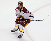 Blake Young (UMD - 17) - The University of Minnesota Duluth Bulldogs defeated the Harvard University Crimson 2-1 in their Frozen Four semi-final on April 6, 2017, at the United Center in Chicago, Illinois.