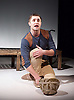 Pink Mist <br /> by Owen Sheers<br /> at Bush Theatre, London, Great Britain <br /> 26th January 2016 <br /> press photocall<br /> <br /> Phil Dunster as Arthur <br /> <br /> <br /> Photograph by Elliott Franks <br /> Image licensed to Elliott Franks Photography Services