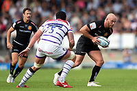 Jack Yeandle of Exeter Chiefs in possession. Gallagher Premiership match, between Exeter Chiefs and Leicester Tigers on September 1, 2018 at Sandy Park in Exeter, England. Photo by: Patrick Khachfe / JMP