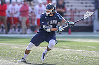 College Park, MD - March 18, 2017: Villanova Wildcats Danny Seibel (6) attempts a shot during game between Villanova and Maryland at  Capital One Field at Maryland Stadium in College Park, MD.  (Photo by Elliott Brown/Media Images International)