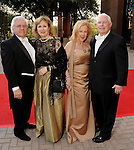 From left: Cappy and Darlene Bisso with Mary Ann and David McKeithan at the Houston Grand Opera Ball - Carousel! at the Wortham Theater Saturday April 9,2016.(Dave Rossman Photo)
