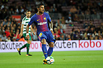 League Santander 2017/2018. Game: 05.<br /> FC Barcelona vs SD Eibar: 6-1.<br /> Paulinho.