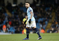 Manchester City's Nicolas Otamendi<br /> <br /> Photographer Rich Linley/CameraSport<br /> <br /> UEFA Champions League Group F - Manchester City v TSG 1899 Hoffenheim - Wednesday 12th December 2018 - The Etihad - Manchester<br />  <br /> World Copyright © 2018 CameraSport. All rights reserved. 43 Linden Ave. Countesthorpe. Leicester. England. LE8 5PG - Tel: +44 (0) 116 277 4147 - admin@camerasport.com - www.camerasport.com