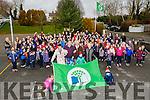 On Tuesday at Kilcummin NS the 7th Green Flag was raised by the l;enihan Family, Sarah,Laura,George,Dermot,Bernie,Cian and George Lenihan (jnr)