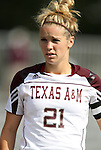09 September 2011: Texas A&M's Mary Grace Schmidt. The Duke University Blue Devils defeated the Texas A&M Aggies 7-2 at Koskinen Stadium in Durham, North Carolina in an NCAA Division I Women's Soccer game.