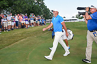 Brooks Koepka (USA) departs the green on 18 after winning the WGC FedEx St. Jude Invitational, TPC Southwind, Memphis, Tennessee, USA. 7/28/2019.<br /> Picture Ken Murray / Golffile.ie<br /> <br /> All photo usage must carry mandatory copyright credit (© Golffile | Ken Murray)