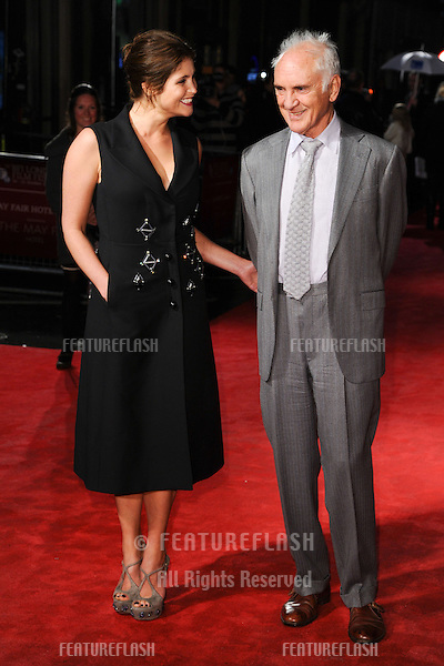 "Gemma Arterton and Terence Stamp at the premiere of ""Songs for Marion"" being shown as part of the London Film Festival 2012, Odeon West End, London. 19/10/2012 Picture by: Steve Vas / Featureflash"