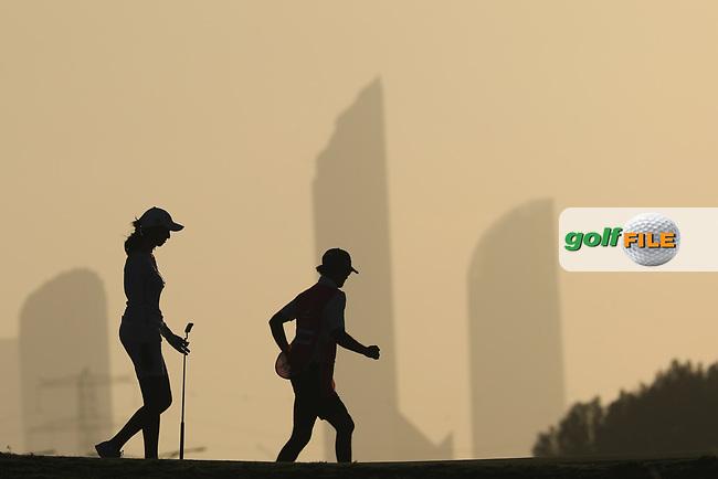 Emily Kristine Pedersen (DEN) during the second round of the Fatima Bint Mubarak Ladies Open played at Saadiyat Beach Golf Club, Abu Dhabi, UAE. 11/01/2019<br /> Picture: Golffile   Phil Inglis<br /> <br /> All photo usage must carry mandatory copyright credit (© Golffile   Phil Inglis)