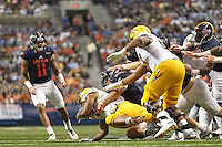 SAN ANTONIO, TX - SEPTEMBER 16, 2016: The Arizona State University Sun Devils slip by the University of Texas at San Antonio Roadrunners 32-28 at the Alamodome. (Photo by Jeff Huehn)