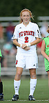 07 October 2007: NC State's Alex Berger. The Duke University Blue Devils defeated the North Carolina State University Wolfpack 1-0 at Method Road Soccer Stadium in Raleigh, North Carolina in an Atlantic Coast Conference NCAA Division I Women's Soccer game.