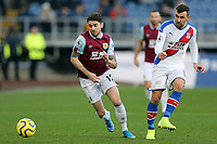 Burnley's Robbie Brady vies for possession with Crystal Palace's James McArthur<br /> <br /> Photographer Rich Linley/CameraSport<br /> <br /> The Premier League - Burnley v Crystal Palace - Saturday 30th November 2019 - Turf Moor - Burnley<br /> <br /> World Copyright © 2019 CameraSport. All rights reserved. 43 Linden Ave. Countesthorpe. Leicester. England. LE8 5PG - Tel: +44 (0) 116 277 4147 - admin@camerasport.com - www.camerasport.com