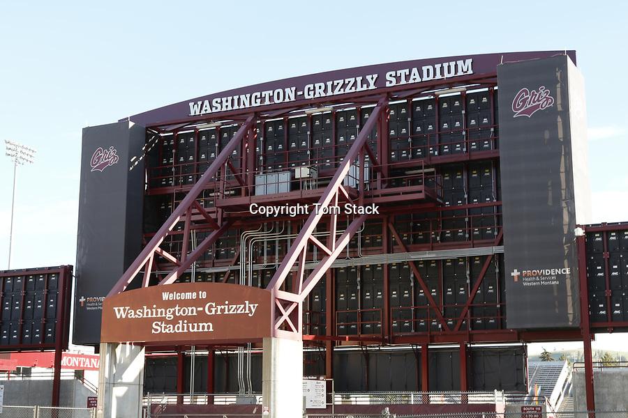 The Washington-Grizzly Champions Stadium, University of Montana, Missoula