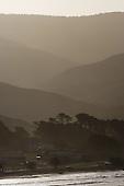 Receding hills, Castle Point, Masterton, NZ