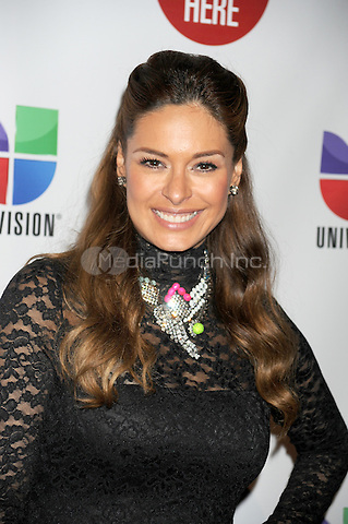 NEW YORK, NY - MAY 15: Galilea Montijo attends the Univision Upfront 2012 reception at Cipriani 42nd Street on May 15, 2012 in New York City.. Credit: Dennis Van Tine/MediaPunch