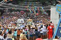 BELÉM, PA, 11.10.2014 - CÍRIO MOTOROMARIA / CÍRIO 2014 / BELÉM  -  Logo após descer do Navio Hidroceanográfico Garnier Sampaio da Marinha do Brasil, a imagem da santa é conduzida pela motoromaria, pela ruas de Belém até o Colégio Gentil Bittencourt, na avenida Nazaré, em aproximadamente uma hora de procissão. A motoromaria é o Círio dos Motociclistas Paraense. A Motorromaria está em sua 25ª .(Foto: Paulo Lisboa / Brazil Photo Press)