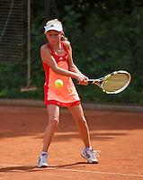 05-08-13, Netherlands, Dordrecht,  TV Desh, Tennis, NJK, National Junior Tennis Championships, Bente Spee<br /> <br /> <br /> Photo: Henk Koster