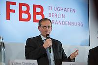 Pressekonferenz nach BER-Aufsichtsratssitzung am Freitag den 22. April 2016.<br /> Nach Aussagen vom Regierenden Buergermeister Michael Mueller und dem BER-Aufsichtsratsvorsitzendem Karsten Muehlenfeld soll nach mehrjaehriger Verzoegerung die Bauphase des Flughafens im Jahr 2016 abgeschlossen werden und der Flugbetrieb im Jahr 2017 aufgenommen werden. Wann genau wurde jedoch nicht gesagt.<br /> Im Bild: Michael Mueller.<br /> 22.4.2016, Berlin<br /> Copyright: Christian-Ditsch.de<br /> [Inhaltsveraendernde Manipulation des Fotos nur nach ausdruecklicher Genehmigung des Fotografen. Vereinbarungen ueber Abtretung von Persoenlichkeitsrechten/Model Release der abgebildeten Person/Personen liegen nicht vor. NO MODEL RELEASE! Nur fuer Redaktionelle Zwecke. Don't publish without copyright Christian-Ditsch.de, Veroeffentlichung nur mit Fotografennennung, sowie gegen Honorar, MwSt. und Beleg. Konto: I N G - D i B a, IBAN DE58500105175400192269, BIC INGDDEFFXXX, Kontakt: post@christian-ditsch.de<br /> Bei der Bearbeitung der Dateiinformationen darf die Urheberkennzeichnung in den EXIF- und  IPTC-Daten nicht entfernt werden, diese sind in digitalen Medien nach §95c UrhG rechtlich geschuetzt. Der Urhebervermerk wird gemaess §13 UrhG verlangt.]