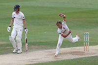 Aaron Beard in bowling action for Essex during Essex CCC vs Yorkshire CCC, Specsavers County Championship Division 1 Cricket at The Cloudfm County Ground on 9th July 2019