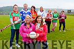 Launching the Skellig Rangers Ladies Football Tournament & Challenges in aid of Breast Cancer to be held on Saturday 27th June from 10am in Portmagee were front l-r; Paula Brennan(Sec. S.R. Ladies), Aideen Martin(Chairperson S.R. Ladies), back l-r; Mary Cronin(Bally/Foilmore), Clodagh Quinlan(Renard), Meabh Cournane(Valentia), Aoife Daly(St Marys), Norma Moriarty(Waterville), Karen Dennehy(Skellig Rangers & Sarah O'Shea(Dromid).