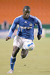 SEP 15  2007:  Eddie Johnson (7) of the Wizards.  The MLS Kansas City Wizards defeated the visiting Columbus Crew 3-2 at Arrowhead Stadium in Kansas City, Missouri, in a regular season league soccer match.