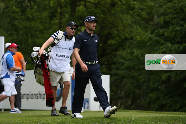 Trevor Fisher JNR (RSA) in action during Round Three of the 2015 BMW PGA Championship over the West Course at Wentworth, Virginia Water, London. 23/05/2015. Picture David Lloyd | www.golffile.ie.