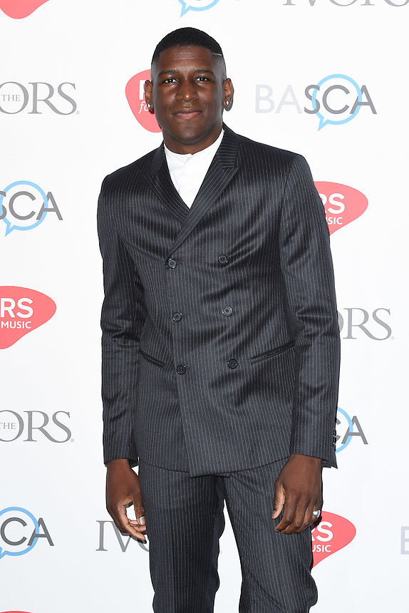 Labrinth<br /> arrives for the 2016 Ivor Novello Awards at the Grosvenor House Hotel, London.<br /> <br /> <br /> &copy;Ash Knotek  D3121  19/05/2016