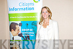 Frances Clifford, Citizens Information Service at the Radio Kerry Lifestyle expo at the Carlton Hotel, Tralee on Sunday.