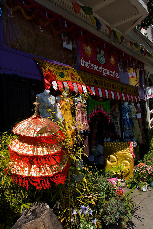 California: San Francisco. The Love of Ganesha shop in the Haight-Ashbury district. Photo copyright Lee Foster. Photo # 28-casanf79196