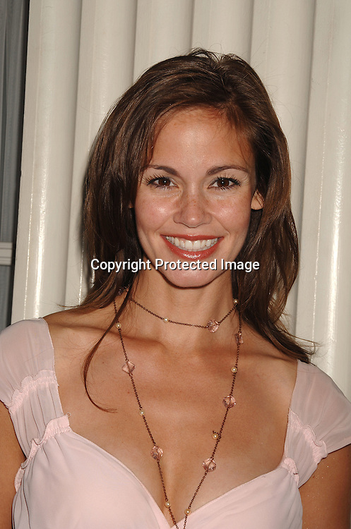 Christina Chambers ..at the 18th annual  Marcia Tovsky's  Pre-Daytime Emmy Awards Party on June 6, 2007 at Nikki Midtown. ..Robin Platzer, Twin Images......212-935-0770